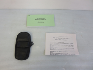 放射能測定器 キャリングケース 異常なし