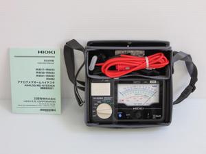 絶縁抵抗器 付属品やオプション品