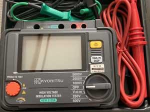 共立電気計器 クリーニング