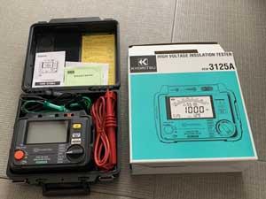 共立電気計器 使用感のないきれいな製品