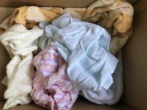 緩衝材 タオル たくさん