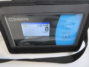 SIBATA デジタル粉じん計 液晶画面