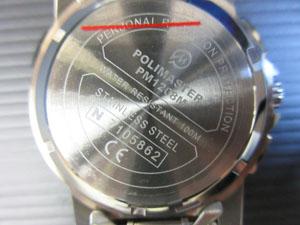 ポリマスター Polimaster ガイガーカウンター腕時計