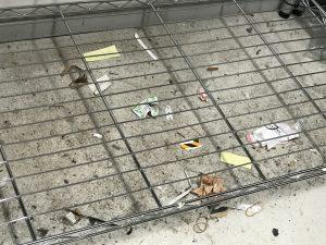 測定器 保管場所 汚い