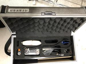 超音波厚さ計 付属品