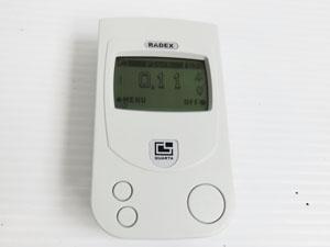 RADEX 放射線測定器 ラデックス ガイガーカウンター 買取